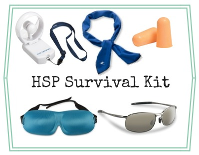 Highly Sensitive Person Travel Survival Kit
