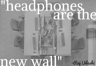 Headphones are the New Wall: Everyone Hates Open Office Plans