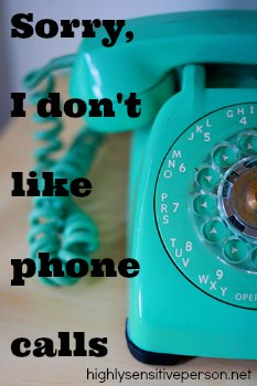 I Hate Talking on the Phone