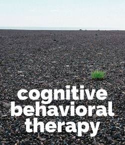 Cognitive Behavioral Therapy…heard of it?