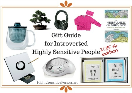 Gift Guide for Highly Sensitive People & Introverts 2016