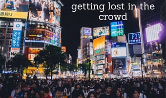 Getting lost in a crowd: a secret joy of Highly Sensitive & High Sensation Seeking Introverts
