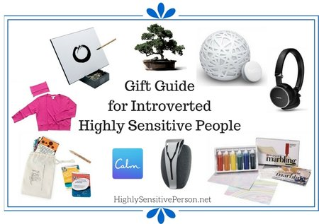 Gift Guide for Highly Sensitive People & Introverts