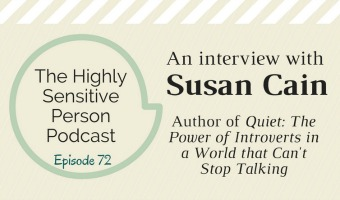 HSP Podcast #72: The Susan Cain Interview