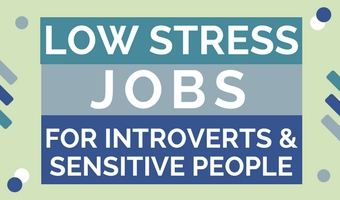Low stress jobs for introverts and sensitive people